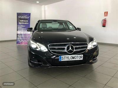brugt Mercedes E250 Clase EBlueTEC 4MATIC Avantgarde