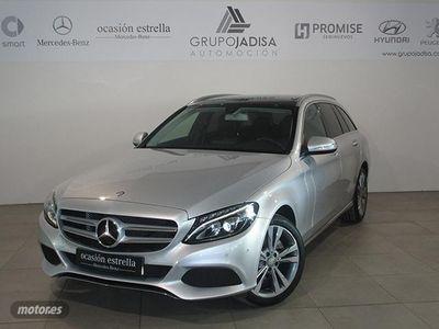 usado Mercedes 220 Clase C C EstateBlueTEC 7G Plus
