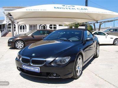 usado BMW 645 Cabriolet Serie 6 E64 Cabrio Aut.