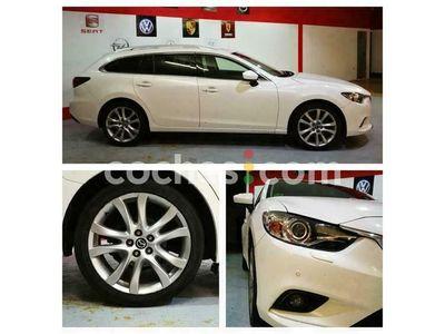 usado Mazda 6 W. 2.2de Style 150 cv en Madrid
