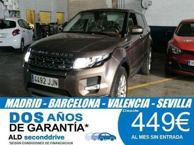 usado Land Rover Range Rover evoque 2.2L SD4 Pure Tech 4x4 Auto 140 kW (190 CV)