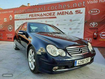 usado Mercedes C230 Clase CK Sportcoupe