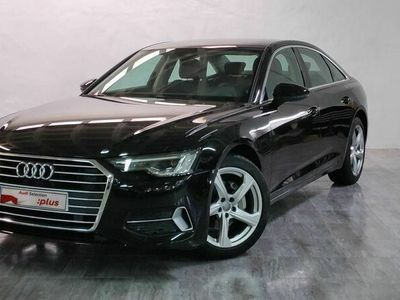 usado Audi A6 sport 40 TDI 150 kW (204 CV) S tronic Diésel Negro matriculado el 02/2019