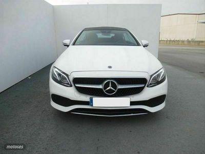 usado Mercedes E300 Clase E Coupe