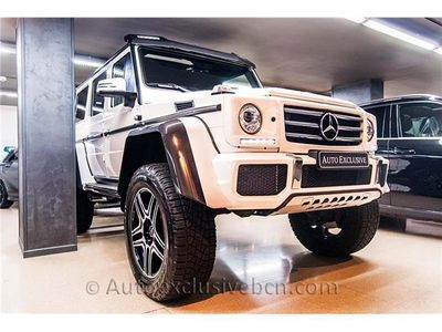 usado Mercedes G500 4x4² - Blanco Designo - EXCLUSIVO - FULL EQUIP