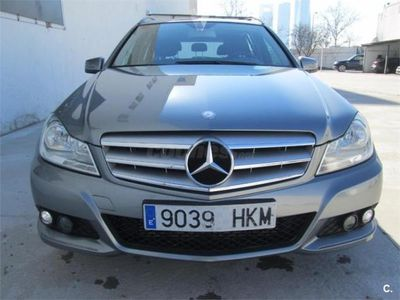 usado Mercedes C200 Clase CCdi Blue Efficiency Estate 5p. -12