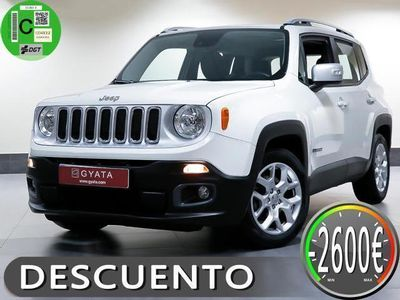 usado Jeep Renegade 1.4 Multiair Limited 4x2 DDCT 103kW