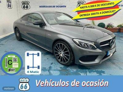 usado Mercedes C43 AMG Clase C C Coupe AMG4MATIC