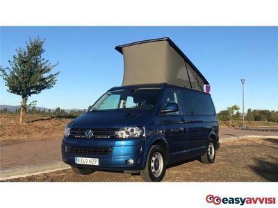 usado VW T5 beach 2.0tdi 140 **techo elevable*naciona* libro** diesel