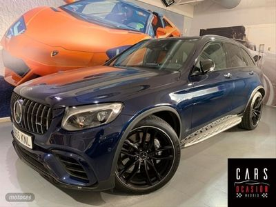 usado Mercedes GLC63 AMG AMG Clase X253 4Matic+ Aut.