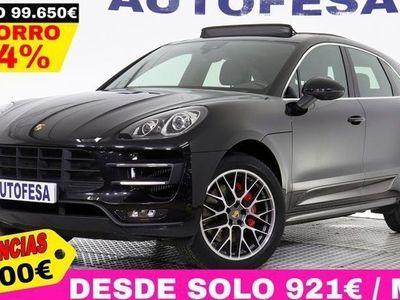 usado Porsche Macan Turbo 3.6 V8 400cv Auto 4wd 5p # TECHO,CUERO,GPS,BIXENON