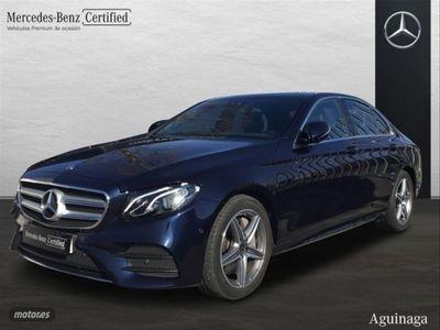 usado Mercedes E350 GASOLINA + AMG INT + EXT + TECHO PANORAMICO