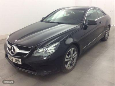 usado Mercedes E250 Clase E CoupeBlueTEC