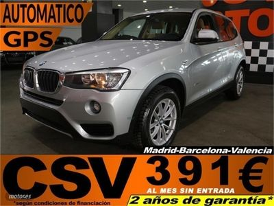 brugt BMW X3 sDrive18d
