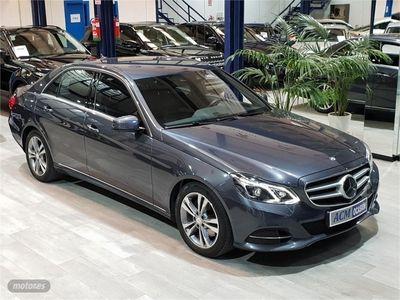 usado Mercedes E350 Clase EBlueTEC Avantgarde Plus
