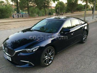 usado Mazda 6 2.2de Lux.+prem.w.(navi) Aut. 110kw 150 cv en Madrid