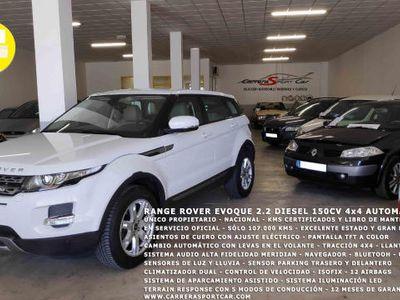 usado Land Rover Range Rover evoque 2.2DIESEL 150CV 4x4 AUTOMÁTICO KMS GARANTIZADOS