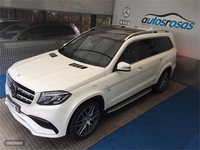 second-hand Mercedes GLS63 AMG Clase 4Matic Aut./Techo panoramico/Gancho
