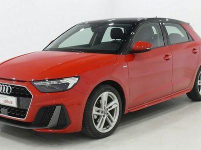 usado Audi A1 Sportback S line 30 TFSI 85 kW (116 CV) Gasolina Rojo matriculado el 09/2020