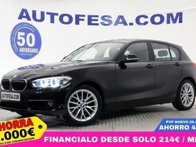 brugt BMW 118 118 F20 d 150 5p IVA,NAVY, PARKTRONIC