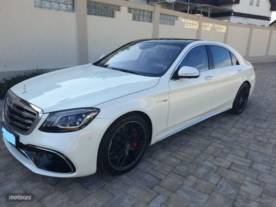 usado Mercedes S63 AMG Clase S AMG4MATIC L