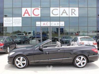 usado Mercedes E350 Clase E CabrioCdi Be Elegance 2p. -10
