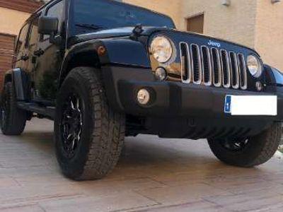 usado Jeep Wrangler Unlimited 2.8CRD Sahara Aut.