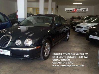used Jaguar S-Type 3.0 V6 UNICO DUEÑO, BLUETOOTH, EXCELENTE ESTADO