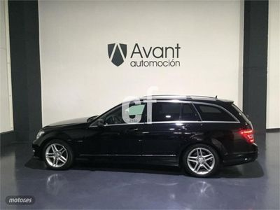 usado Mercedes C220 Estate CDI BE Avantgarde AMG