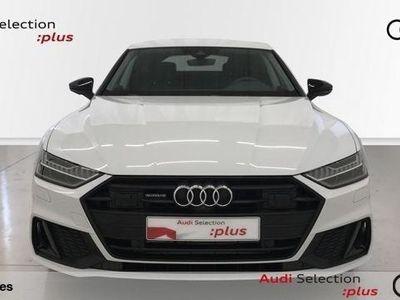 usado Audi A7 Sportback 55 TFSIe quattro-ultra S tronic 270 kW (367 CV) Híbrido Electro/Gasolina Blanco matriculado el 01/2020