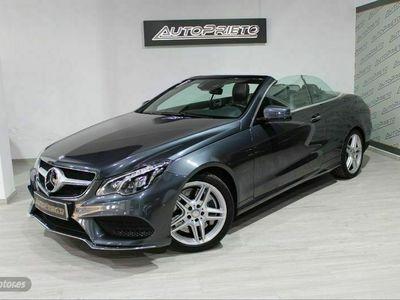usado Mercedes E500 Clase E Cabrio