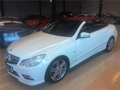 usado Mercedes E350 Cabrio CDI PAQUETE AMG NACIONAL