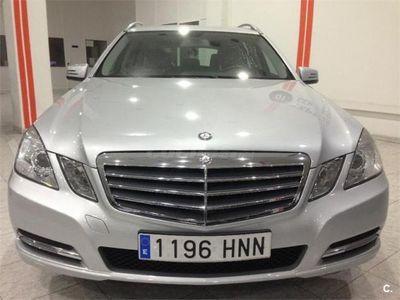 usado Mercedes E220 Clase ECdi Be Estate 5p. -13