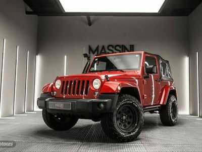 usado Jeep Wrangler 2.8 CRD Sahara