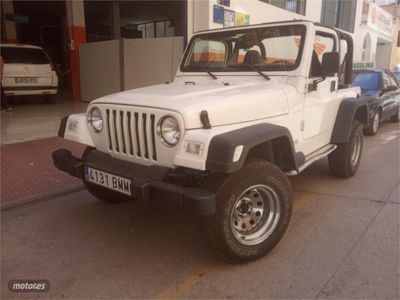 gebraucht Jeep Wrangler 2.5 Techo Lona