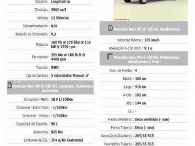 usado Mercedes 300 300SEL -91