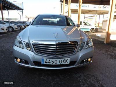 usado Mercedes E250 Clase ECDI Blue Efficiency Elegance