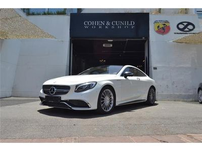 usado Mercedes S63 AMG AMG Clase Coupé C217 Coupé 4Matic Auto