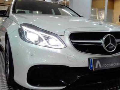 gebraucht Mercedes E63 AMG Clase W212 S 4M Aut.