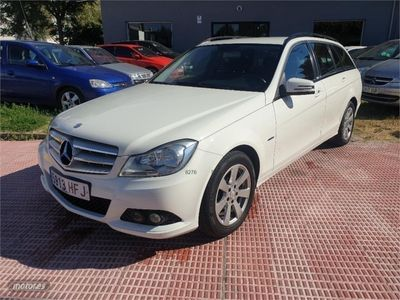 gebraucht Mercedes C200 Clase CCDI BE Avant. Blue Eff. Ed. Estate