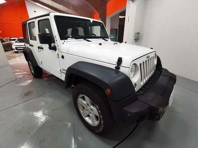 usado Jeep Wrangler Unlimited 2.8CRD Sport