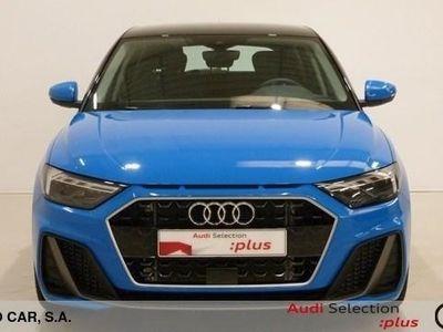 usado Audi A1 Sportback S line 30 TFSI 85 kW (116 CV) Gasolina Azul matriculado el 02/2019