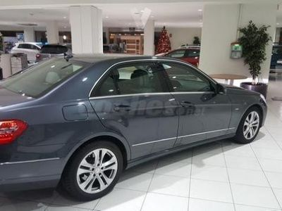 usado Mercedes E220 Clase ECdi Blue Efficiency Avantgarde 4p. -09