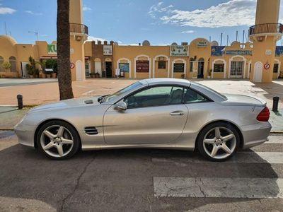 usado Mercedes SL500 SL 500pack y escape amg