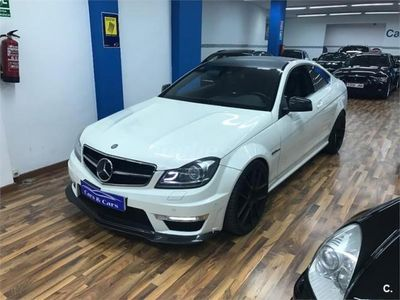 usado Mercedes C63 AMG Clase CAmg Coupe 2p. -12