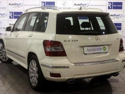 usado Mercedes GLK220 Clase GlkCdi Be Executive 5p. -11