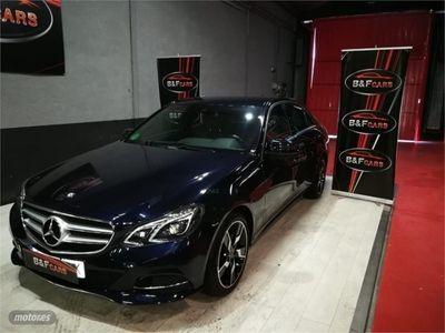gebraucht Mercedes E220 ClaseAvantgarde 4M 7G Tronic Plus