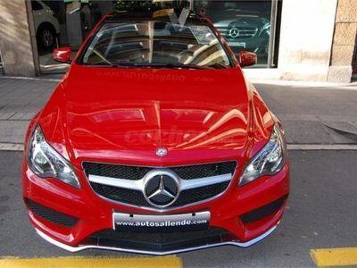 usado Mercedes E350 Clase E CoupeBluetec 2p. -14