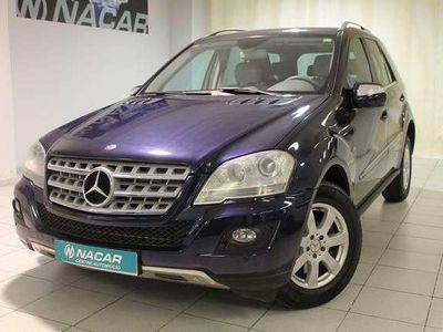 usado Mercedes ML300 Clase MCDI 4MATIC BLUE EFFICIENCY 204 5P