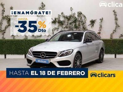 usado Mercedes C220 Estate d 4Matic 7G Plus
